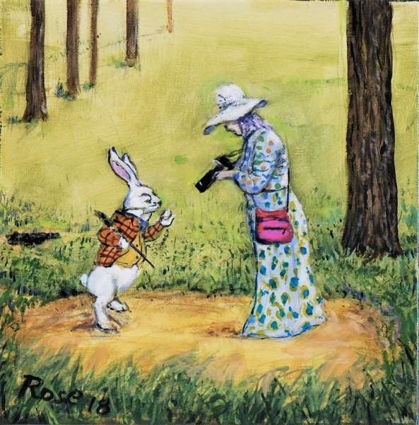 White Rabbit Whimsy
