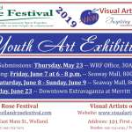2019 Rose Festival & Visual Artists of Welland Art Exhibition