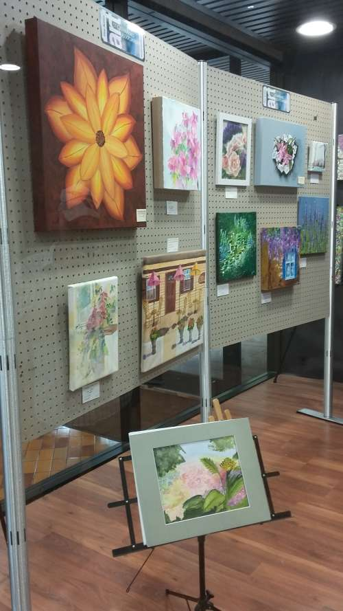 Colours of Summer exhibition